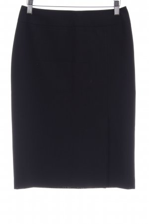 St. emile High Waist Rock schwarz Business-Look