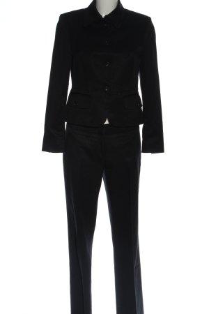 St. emile Traje de pantalón negro look casual