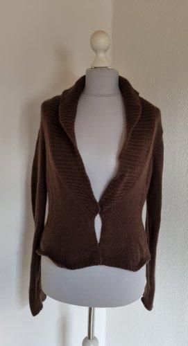 St. emile Chaqueta de lana marrón oscuro