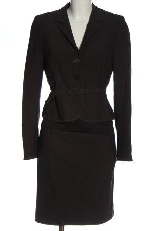 St. emile Kostüm schwarz Streifenmuster Casual-Look