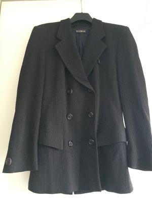 St. Emile Kostüm, schlicht, Größe 36, schwarz, Wolle, super schnitt