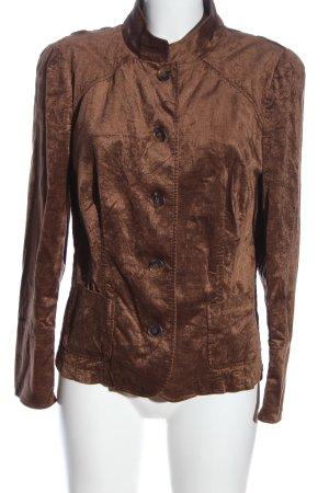 St. emile Korte blazer bruin casual uitstraling