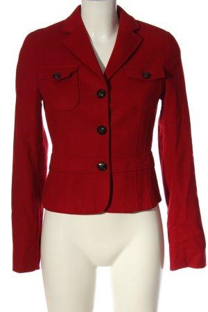 St. emile Korte blazer rood zakelijke stijl