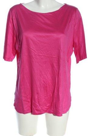St. emile Blusa de manga corta rosa look casual