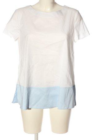 St. emile Camicetta a maniche corte bianco-blu stile casual