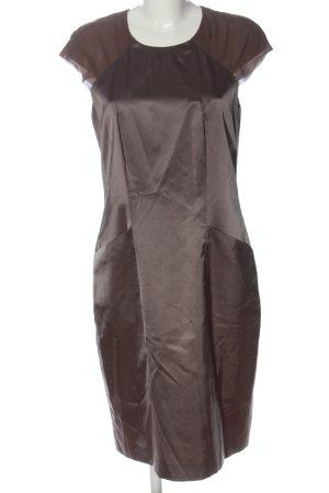 St. emile Vestido de manga corta color bronce-marrón look casual