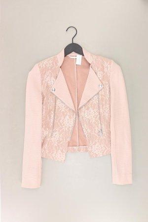St. emile Korte blazer stoffig roze-rosé-lichtroze-roze Katoen
