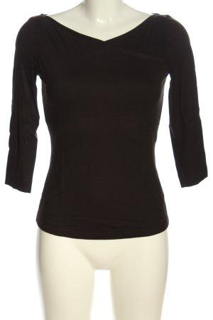 St. emile Langarm-Bluse schwarz Casual-Look