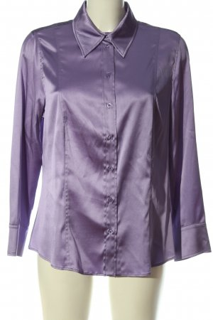 St. emile Camisa de manga larga lila elegante
