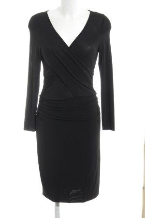 St. emile Vestido de manga larga negro estilo «business»