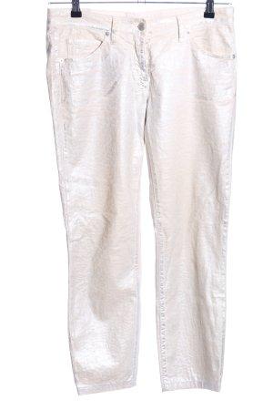 St. emile Pantalon cinq poches blanc cassé style mouillé