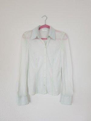 St Emile Leinenhemd Hemd aus Leinen mit Kontrastnähten gr 36