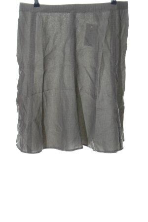 St. emile Lniana spódnica jasnoszary W stylu casual