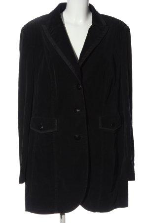 St. emile Long-Blazer schwarz Casual-Look