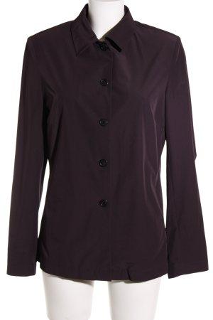 St. emile Long-Blazer braunviolett Business-Look