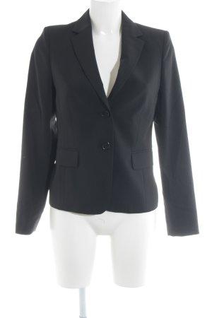 St. emile Long-Blazer schwarz Business-Look