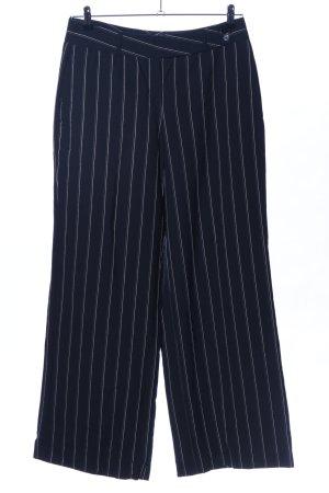 St. emile Pantalon Marlene noir-blanc imprimé allover élégant