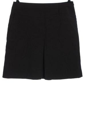 St. emile Spódnica mini czarny Melanżowy W stylu casual