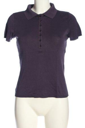 St. emile Camiseta tipo polo lila look casual
