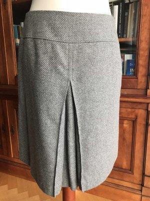 St. emile Falda de lana gris claro-gris lana de alpaca