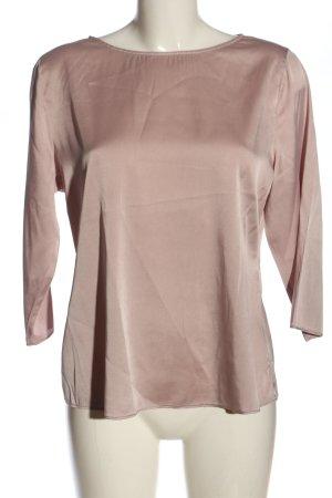St. emile Blusa de seda rosa look casual