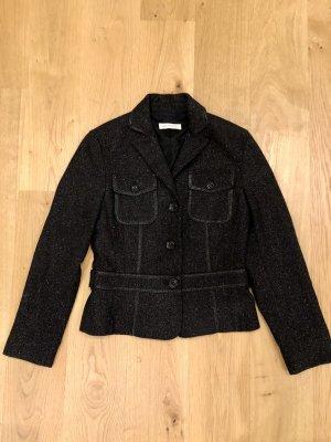 St. emile Klassischer Blazer taupe-zwart