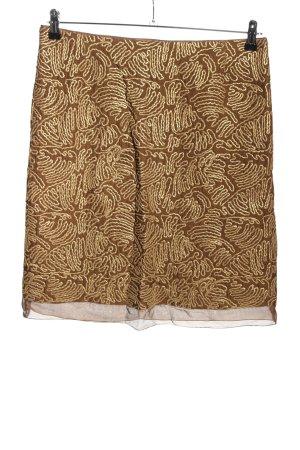 St. emile Jedwabna spódnica brązowy-w kolorze białej wełny W stylu casual