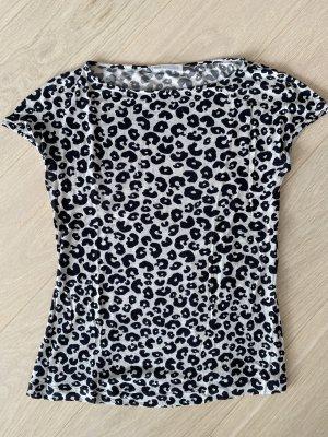 St. emile T-shirt czarny-kremowy