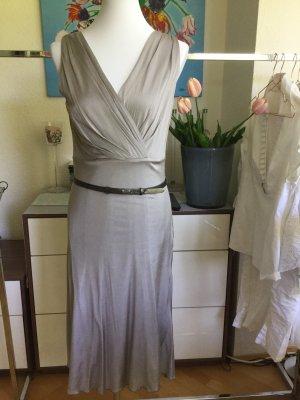 St. emile silbergraues elegantes Kleid Größe 38
