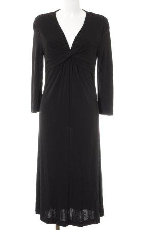 St. emile Sukienka ze stretchu czarny Elegancki