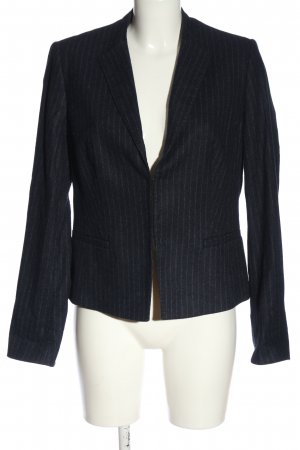St. emile Knitted Blazer blue striped pattern business style