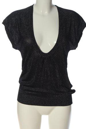 St. emile Camicia maglia nero stile casual