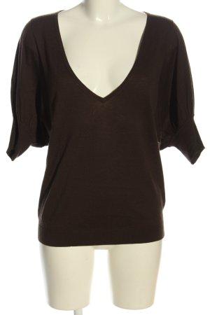 St. emile Camicia maglia marrone stile casual