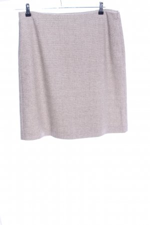 St. emile Tweed Skirt natural white allover print casual look