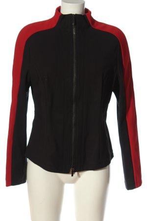 St. emile Chaqueta de entretiempo negro-rojo look casual