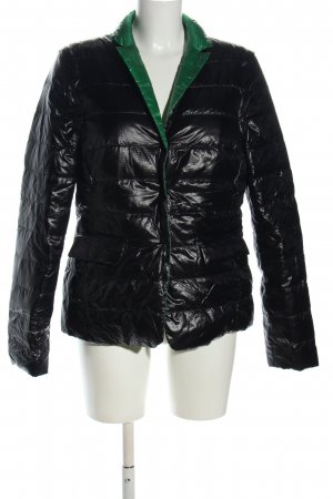 St. emile Reversible Jacket black quilting pattern casual look