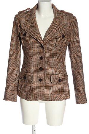 St. emile Blazer en laine motif à carreaux style décontracté