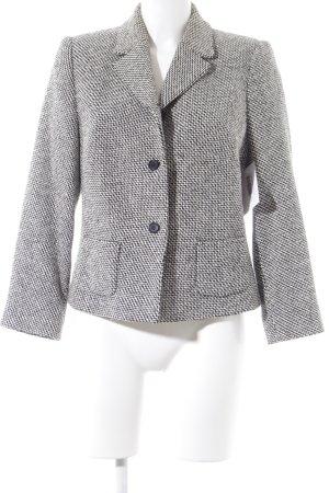 St. emile Woll-Blazer schwarz-weiß klassischer Stil
