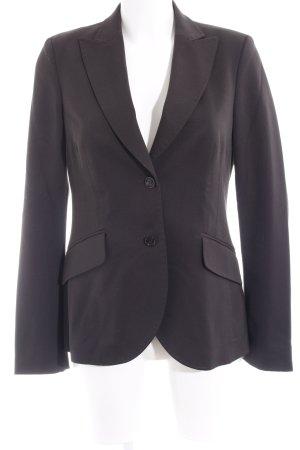St. emile Woll-Blazer schwarzbraun Elegant