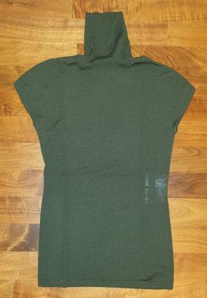 St. emile Top de cuello de cisne verde oscuro-verde oliva Lana