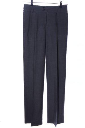 St. emile Pantalon en laine gris clair style d'affaires