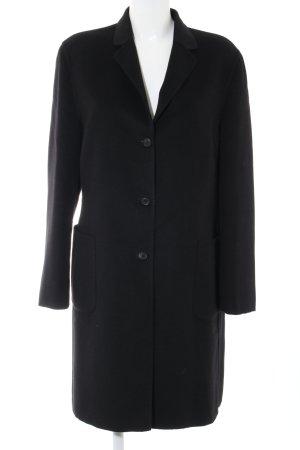 St. emile Manteau en laine noir style d'affaires