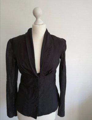 St Martens Bluse in schwarz, Größe 36