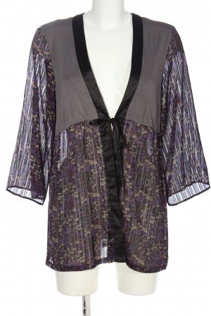 St-martins Cardigan Allover-Druck Casual-Look