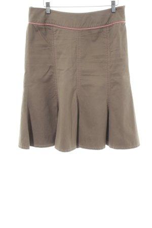 St-martins Jupe à plis brun style décontracté
