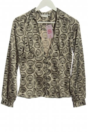 St-martins Shirt Blouse black-natural white allover print casual look