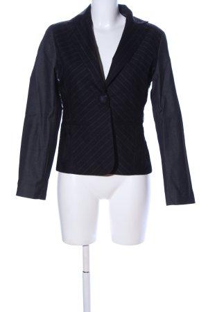 St-martins Blazer en jersey noir moucheté style d'affaires