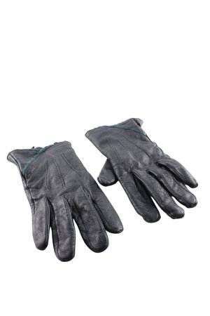 St-martins Leather Gloves black casual look