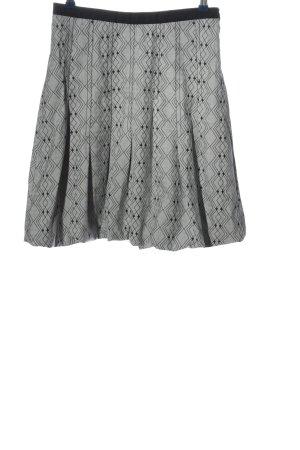 St-martins Jupe stretch gris clair-noir imprimé allover style décontracté