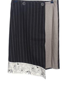 St-martins Falda midi estampado con diseño abstracto look casual
